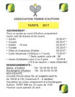 tennis-tarifs-2017